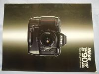 Nikon F90X -ORIGINAL MAKERS- Brochure     £2.49